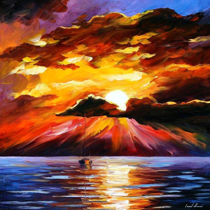 Красивые картинки с закатом на кипре