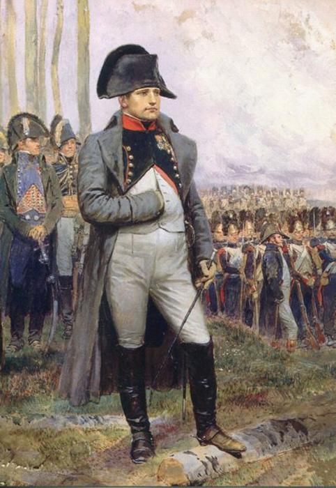 Наполеон в 1806 году. Фрагмент(XIX век).