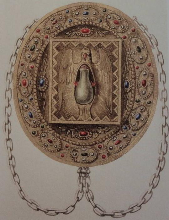 Изображение Святой Стеклянницы. XIX век.